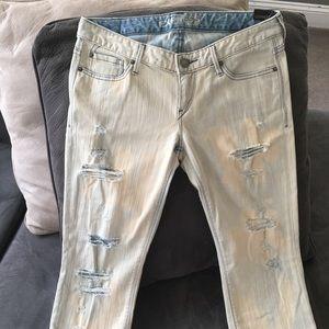 women's express zelda slim fit jeans sz 8